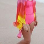 Sunset Beach Kimono Outfit 22