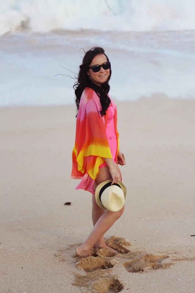 Sunset Beach Kimono Outfit 23