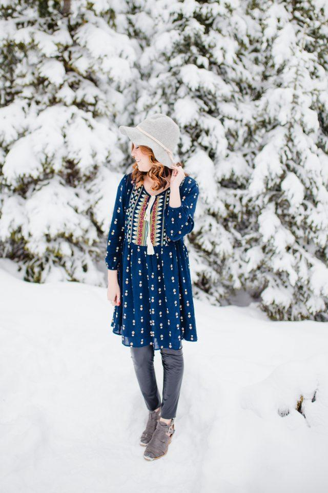 Gray Monroe Dress